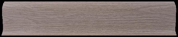 L003 - Дуб белёный - 58 мм Плинтус