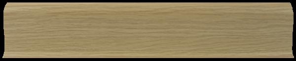 L011 - Дуб Светлый - 58 мм Плинтус
