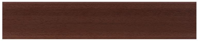 L016 - Светлый Махагон - 58 мм Плинтус