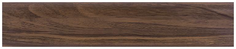 L017 - Орех Тёмный- 58 мм Плинтус