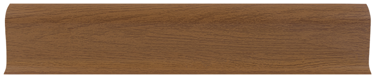 L021 - Дуб жженый- 58 мм Плинтус