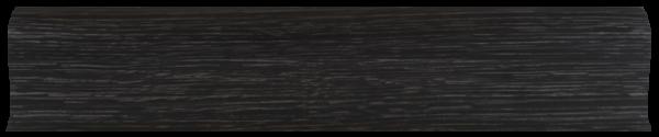 L025 -ВенгеТёмный - 58 мм Плинтус