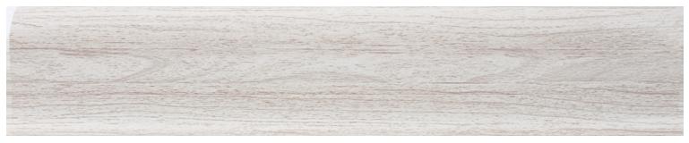 L046 - Ясень Светлый - 58 мм Плинтус