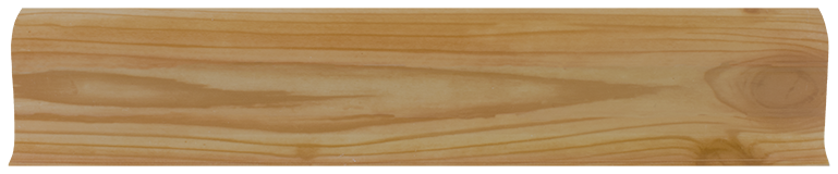 L052 - Сосна- 58 мм Плинтус