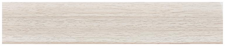 L064 - Клен белый- 58 мм Плинтус