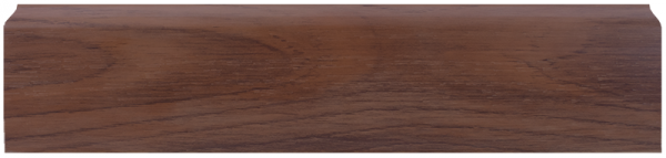LL019 Орех Шоколадный 67 мм Плинтус