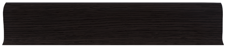 LT011 - Темный Клен - 58 мм Плинтус