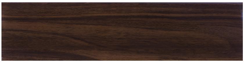 LM017 -– Орех Тёмный – 80 мм Плинтус